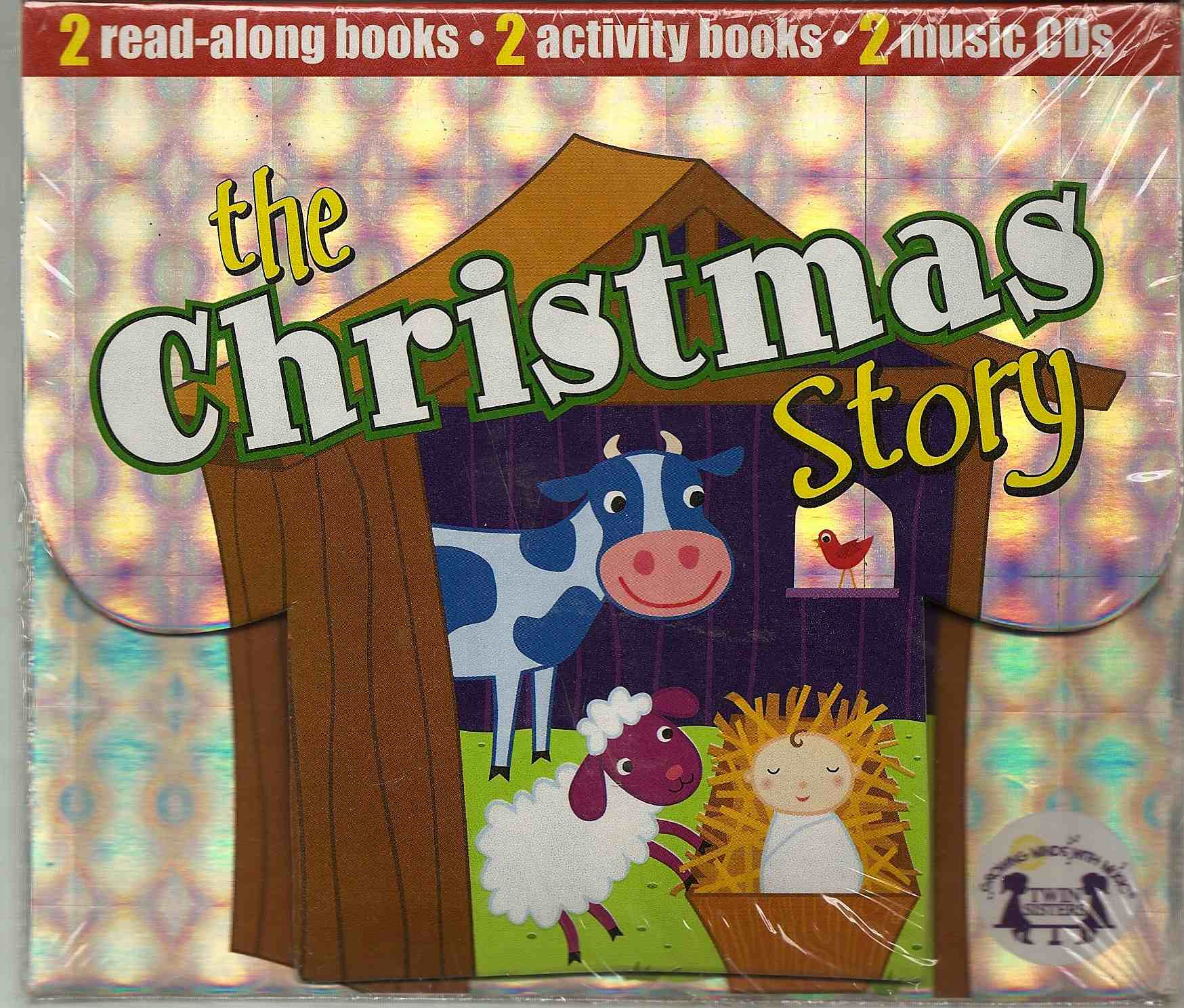 The Christmas Story: 2 read along books, activity books, MusicCD