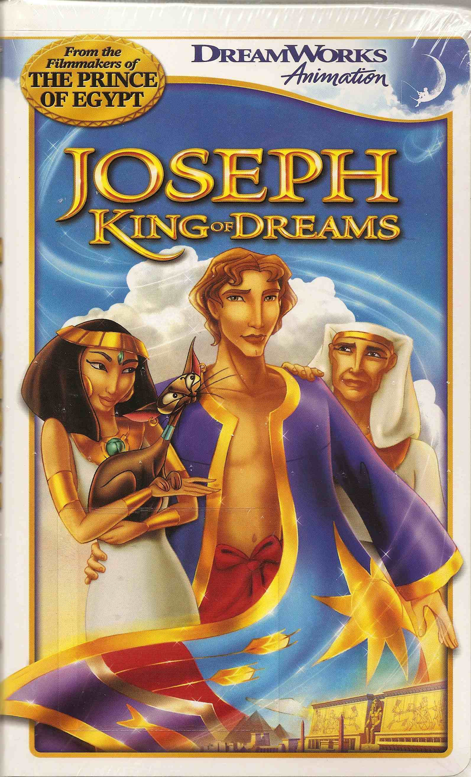 Joseph King of Dreams VHS