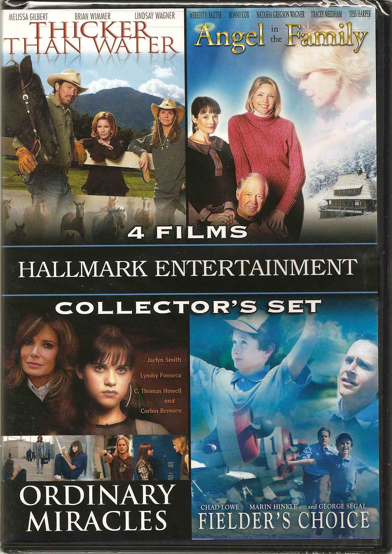 4 Films Hallmark Entertainment collector's set